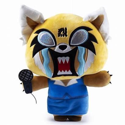 Aggretsuko Rage Plush Hugme Sanrio Action Shake