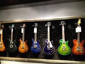 Guitar Wall One Big Frame Around Them All Plus Fabric