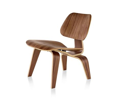 EAMES MOLDED PLYWOOD LOUNGE CHAIR WOOD BASE Lounge