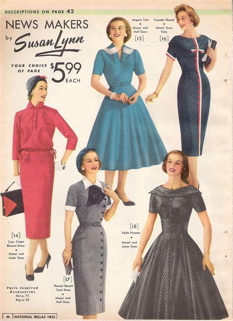 What Did Women Wear In The 1950s 1950s Fashion Women