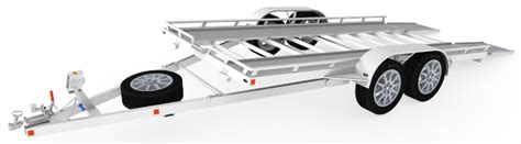 bed designs car hauler trailer plans