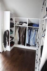 Begehbarer Kleiderschrank Selber Bauen Dachschräge : kleiderschrank selber bauen schrank mit schr ge ~ Watch28wear.com Haus und Dekorationen