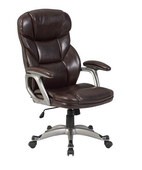 executive office chair pu leather ergonomic high back desk