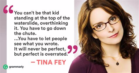 tina fey on writing how tina fey gets things done grammarly