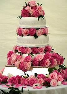 Nice Pink and White Wedding Cake Designs | TrendyOutLook.Com