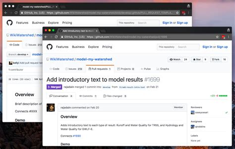 github pull request template github pull request template workflow azavea beyond dots on a map