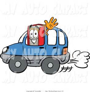 Driving Car Clip Art