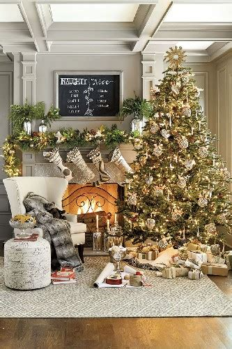 modern christmas decorating ideas   living room