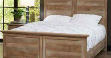 better homes and gardens crossmill bed weathered