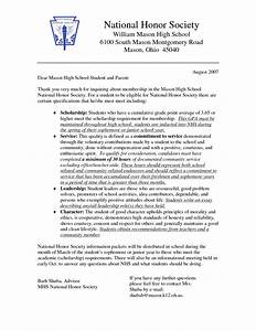 National Honors Society Essay Research Essay Format Outline National  National Honor Society Essay