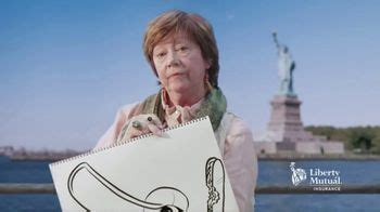 liberty mutual tv commercial caricature artist ispottv