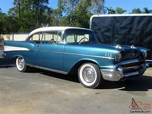 Chevrolet Bel Air 1957 : chevy belair 1957 2 door hard top chevrolet bel air 1957 chevy ~ Medecine-chirurgie-esthetiques.com Avis de Voitures