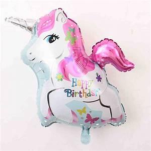 Deko 3 Geburtstag : mybeautyworld24 folienballon einhorn ballon happy ~ Whattoseeinmadrid.com Haus und Dekorationen