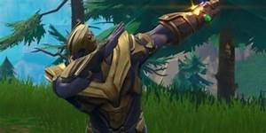 Fortnite Players Rally QuotJustice For Thanosquot