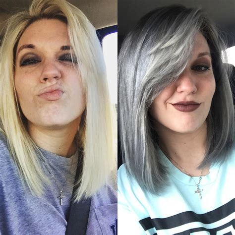 I Dyed My Hair Grey And Heres What Happened
