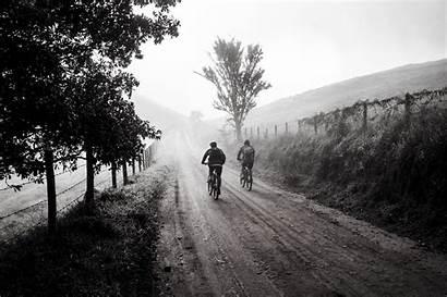 Biking Person Grayscale Cycling Bike Friends Trip