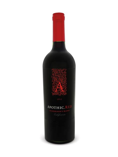 Apothic Red (750 mL bottle) – E. & J. Gallo Winery