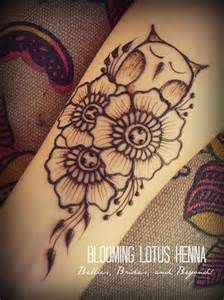 Henna Owl Tattoo Design