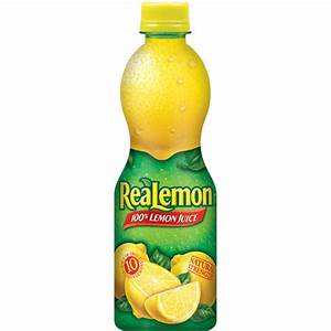 Realemon: 100% From Concentrate Natural Strength Lemon ...