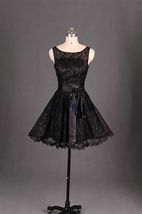 Short lace bridesmaid dress in black cute women gowns for for Cheap wedding party dresses