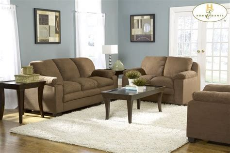 brown microfiber sofa set 599 also available in light