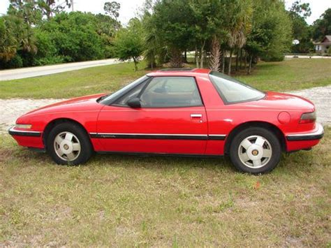 buick two seater sports car buy used 1989 buick reatta 2 door 3 8l a c touch screen