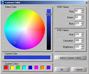 Setting a custom color using audiolabel cd label maker for Custom label maker software
