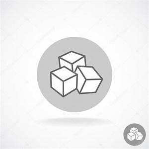 Sugar cubes logo — Stock Vector © Kilroy #65685411