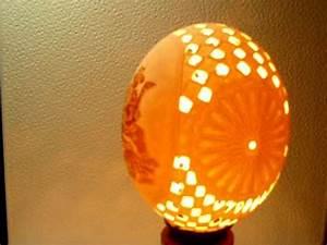 Oeuf D Autruche : oeuf d 39 autruche sculpte youtube ~ Melissatoandfro.com Idées de Décoration