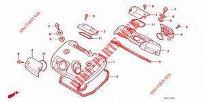 Cylinder Head Cover For Honda Steed 400 Vlx With Speed