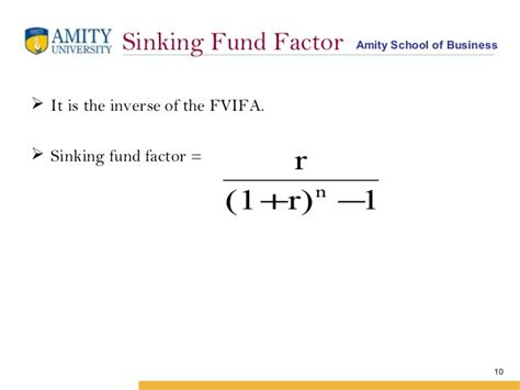 sinking fund formula derivation 4dfcf copy of time value of money 1