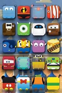 Disney Shelf iPhone Home Screen Wallpaper
