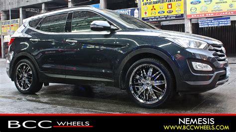 Hyundai Santa Fe Rims by Bcc Chrome Wheels City