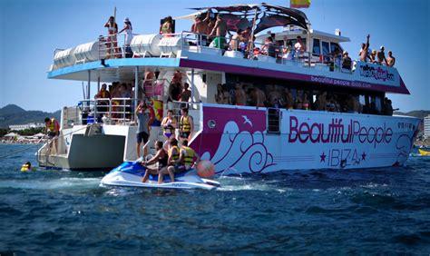 Catamaran Ibiza Boat Party by Beautiful People Ibiza Boat Party Boat Parties Info