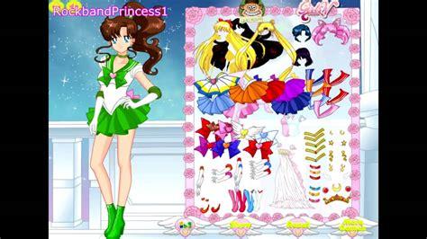 Sailormoon Dress Up Sailor Moon Sailor Moon Dress Up