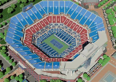 arthur ashe stadium seating chart  open tickpick