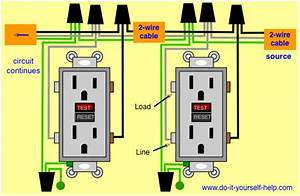 Wiring Diagram For Two Gfci