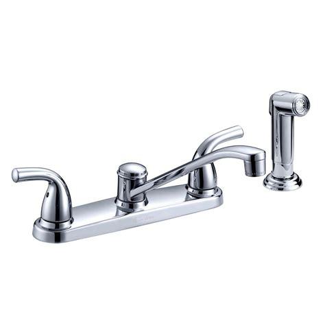 glacier bay kitchen faucet reviews glacier bay builders 2 handle standard kitchen faucet with