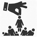 Icon Recruitment Icons Selection Select Pick Job