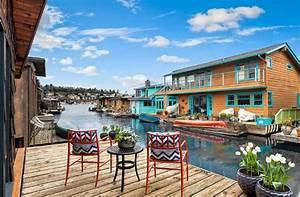 Maison Flottant Prix : changer de vie la maison flottante pour vivre toujours en mer ~ Dode.kayakingforconservation.com Idées de Décoration