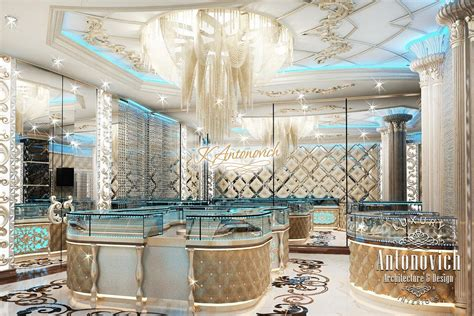 Jewelry Boutique Interior Design