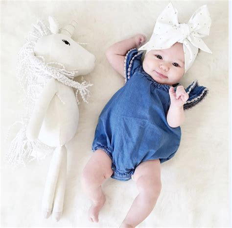 cute newborn baby girl lace romper clothes infant bebes