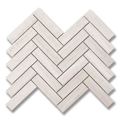 Akdo Taupe Glass Tile by 1 Quot X 4 Quot Herringbone Taupe P Akdo