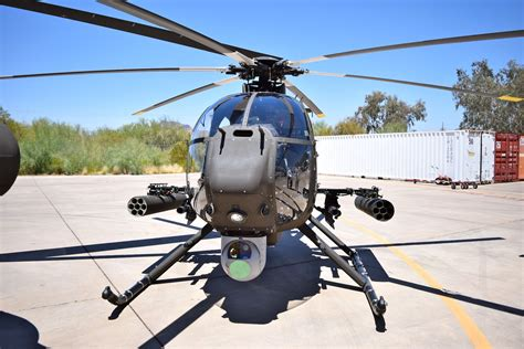 Boeing Readies First AH-6i for Delivery to Saudi Arabia ...