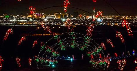 las vegas christmas 2017 christmas lights shows events