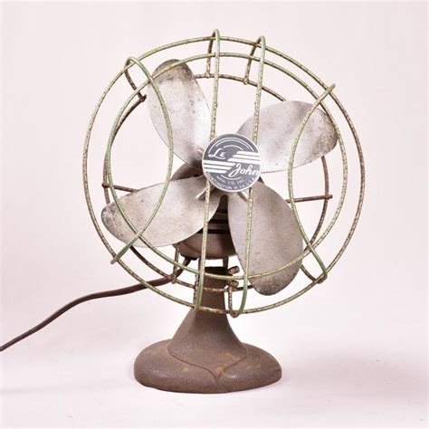 le john 9 quot vintage desk fan