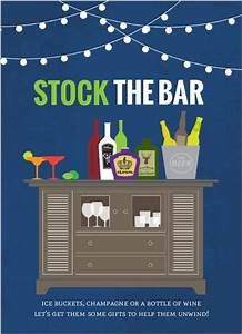stock the bar housewarming fill in the blank invitation With stock the bar invitation templates