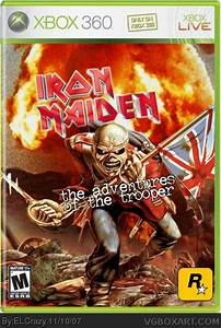 Iron Maiden: The Adventures of the Trooper Xbox 360 Box ...