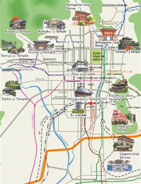 kyoto world heritage map  gospel   days