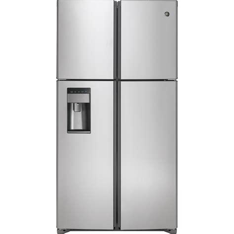 gstslss ge   cu ft quad door french door refrigerator stainless steel jessups